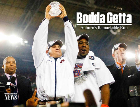 Bodda Getta: Auburn's Remarkable Run Cover