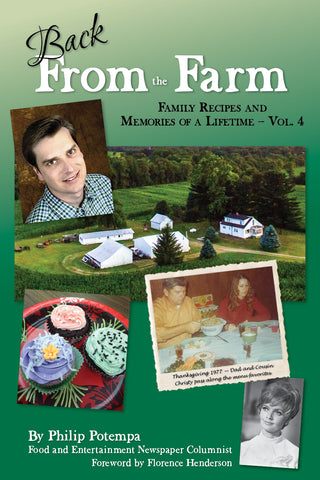 Volume IV: Back From the Farm: Family Recipes and Memories of a Lifetime Cover