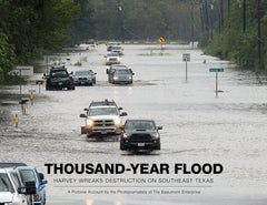 Thousand-Year Flood: Harvey Wreaks Destruction on Southeast Texas Cover