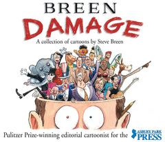 Breen Damage: A Collection of Cartoons by Steve Breen Cover