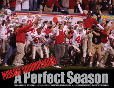 Mission Accomplished: The Ohio State University Buckeyes' 2002 Championship Season Cover