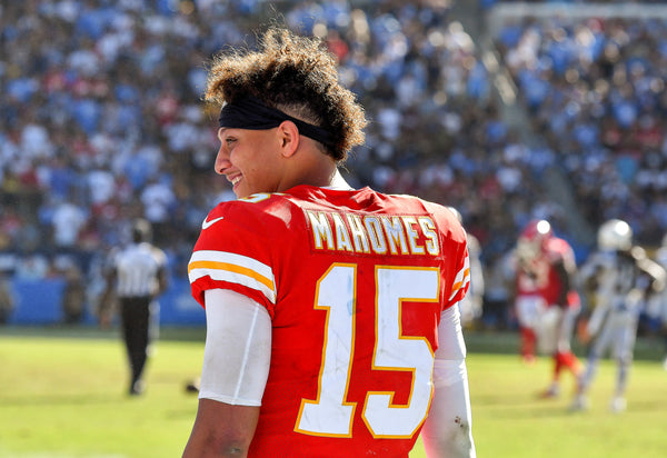 Signed Copy - Patrick Mahomes: The Rise of a Champion: Foreword by Patrick Mahomes