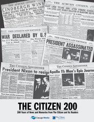 The Citizen 200: 200 Years of News and Memories from The Citizen and its Readers Cover