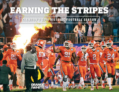 Earning the Stripes: Clemson's 2015 Historic Football Season Cover