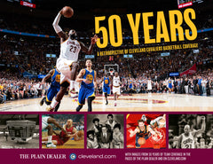 50 Years: A Retrospective of Cleveland Cavaliers Basketball Cover