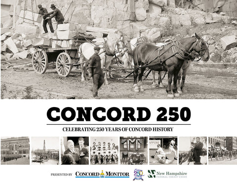 Concord 250: Celebrating 250 Years of Concord History Cover