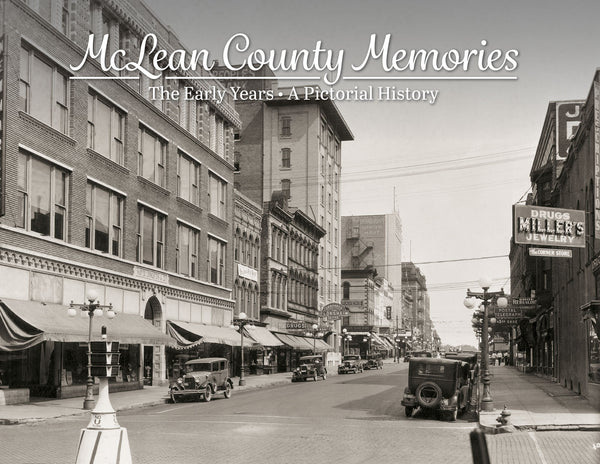 McLean County Memories: The Early Years Cover