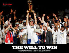 The Will to Win: Dallas Mavericks 2010-11 NBA Champions Cover
