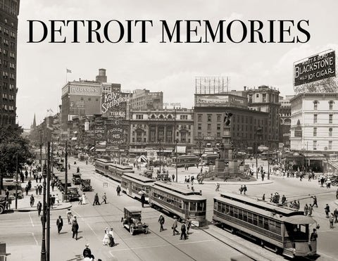 Detroit Memories: The Early Years Cover
