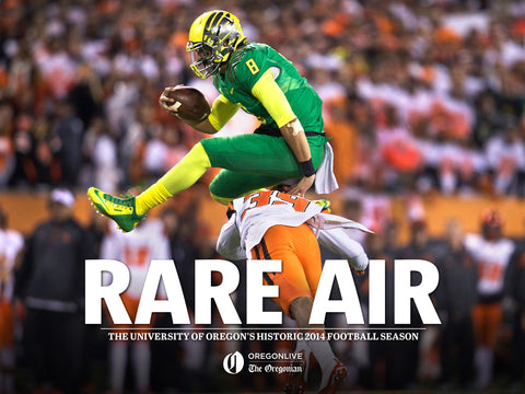 Rare Air eBook: The University of Oregon's Historic 2014 Football Season Cover