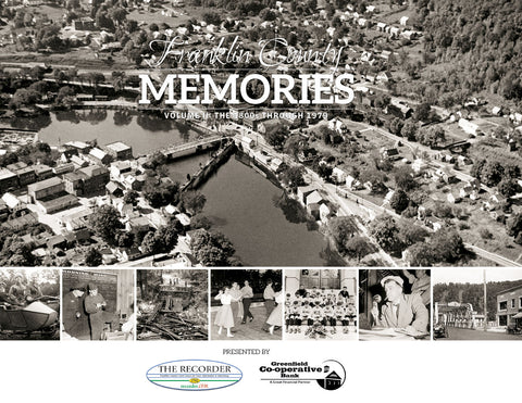 Franklin County Memories: Volume II - The 1800s through 1979 Cover