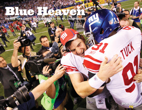Blue Heaven: The New York Giants Incredible Run to the NFL Championship Cover