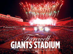 Farewell Giants Stadium: The Concerts, The Events, The Sports Cover