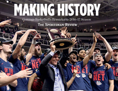 Making History: Gonzaga Basketball's Remarkable 2016-17 Season Cover