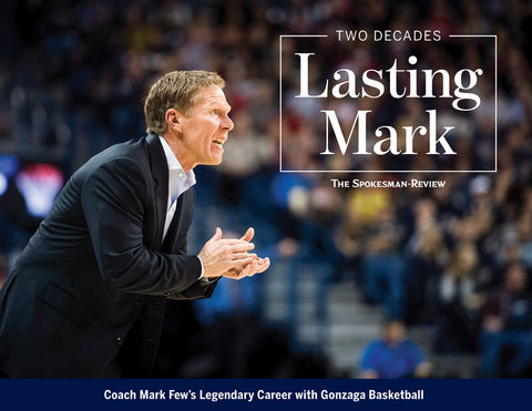 Two Decades: Lasting Mark: Coach Mark Few's Legendary Career with Gonzaga Basketball Cover