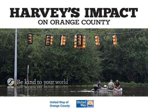 Harvey's Impact on Orange County Cover