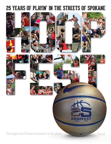 Hoopfest: 25 Years of Playin' in the Streets of Spokane Cover