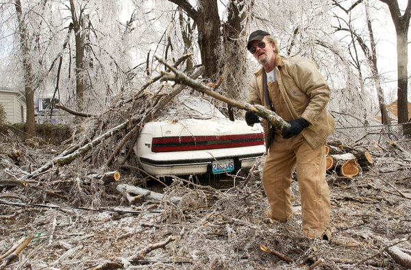 Powerless & Cold: Photo Documentary of the January 2007 Ice Storms