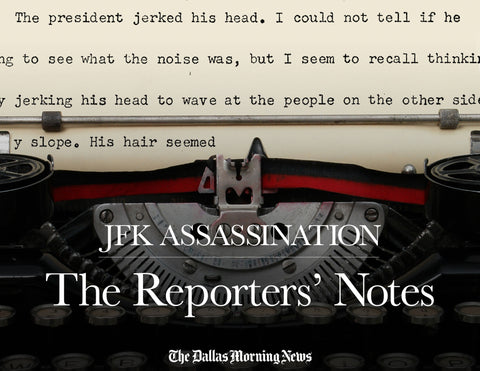 JFK Assassination: The Reporters' Notes Cover