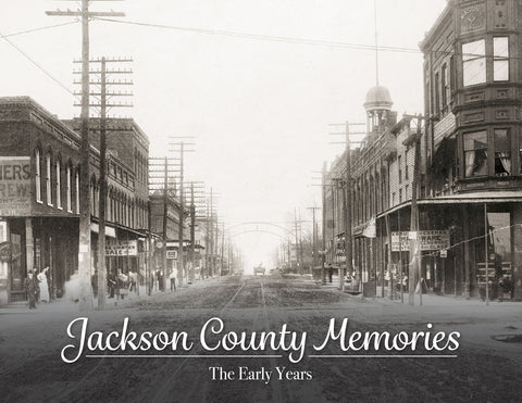 Jackson County Memories: The Early Years Cover