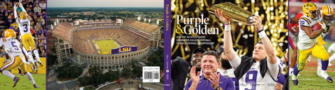 Purple & Golden Jacket Poster Collector's Item Cover