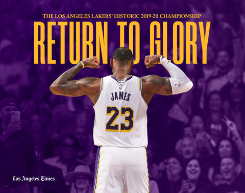 Return to Glory: The Los Angeles Lakers' Historic 2019–2020 Championship Cover