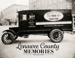Lenawee County Memories: The Early Years Cover