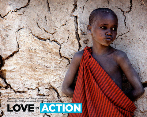 Love in Action: Spreading Christ's Love Through Missions Cover
