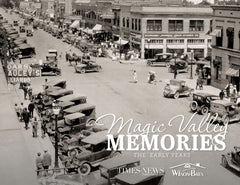 Magic Valley Memories: The Early Years Cover