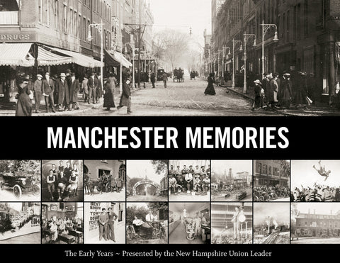 Manchester Memories: The Early Years Cover