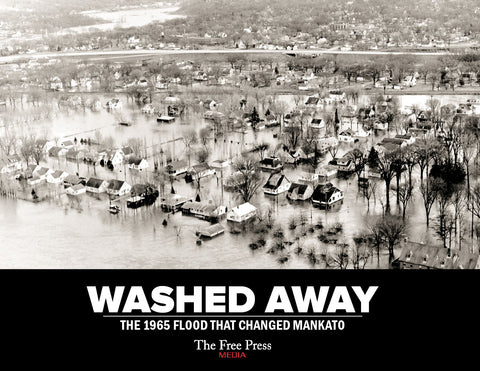 Washed Away: The 1965 Flood That Changed Mankato Cover