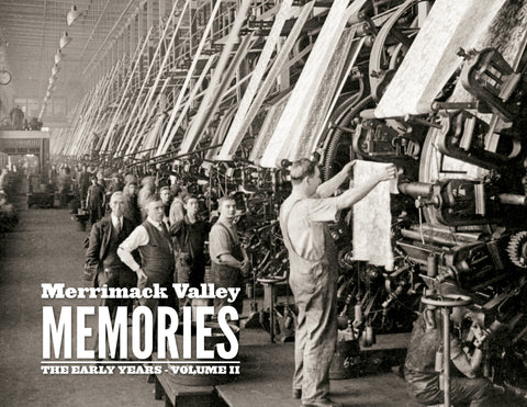 Merrimack Valley Memories II: The Early Years Cover