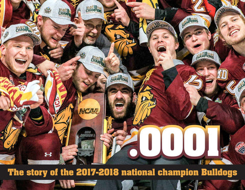 .0001: The Story of the 2017-18 National Champion Bulldogs Cover