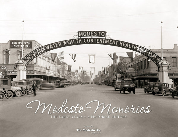 Modesto Memories: The Early Years Cover