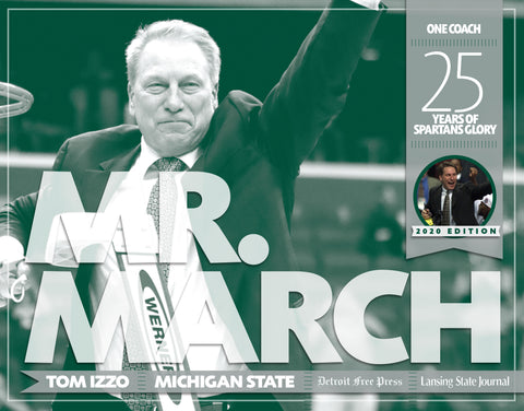 Mr. March: 25 Years of Spartans Glory: 2020 Edition Cover