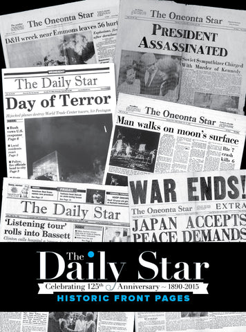 The Daily Star: Historic Front Pages - 1890-2015 Cover