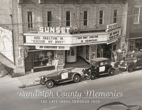 Randolph County Memories: The Late 1800s Through 1959 Cover