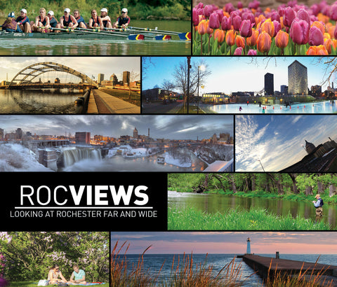 Roc Views: Looking At Rochester Far And Wide Cover