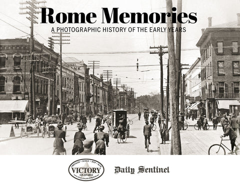 Rome Memories: A Photographic History of the Early Years Cover