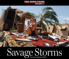 Savage Storms: Hurricane Season 2004 Cover