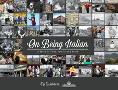 On Being Italian: A Story of Food, Family and Faith Cover