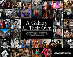A Galaxy All Their Own: Thirty-Eight Years of Moments, Memories and Fandom Behind the Star Wars Phenomenon Cover