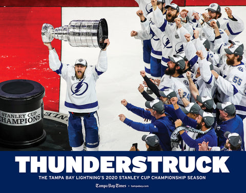 THUNDERSTRUCK: The Tampa Bay Lightning's 2020 Stanley Cup Championship Season Cover