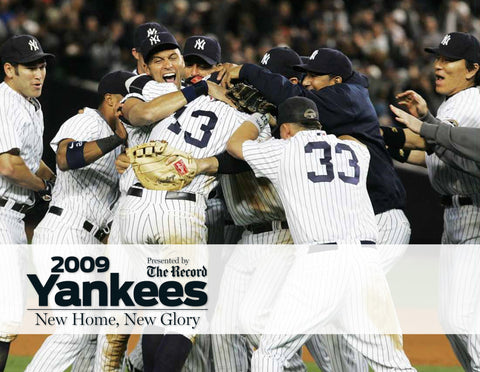 2009 Yankees: New Home, New Glory Cover