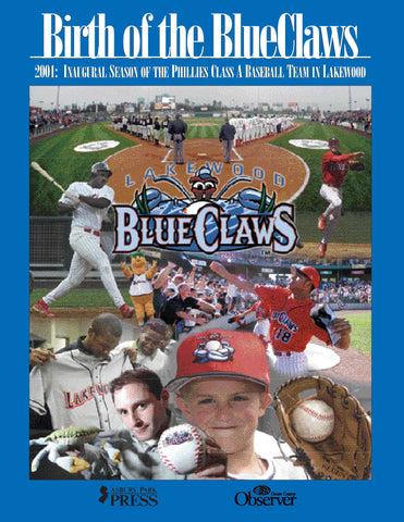 Birth of the BlueClaws Cover
