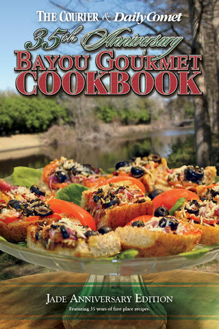 Bayou Gourmet Cookbook: Jade Anniversary Edition Cover