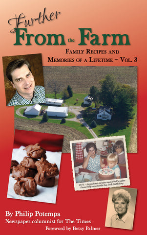 Volume III: Further from the Farm: Family Recipes and Memories of a Lifetime Cover
