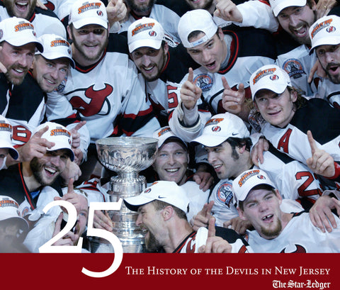 25: The History of the Devils in New Jersey Cover