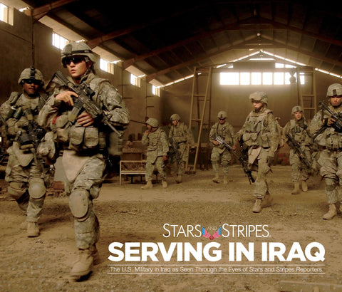 Stars and Stripes: Serving in Iraq Cover