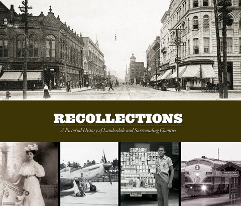 Recollections: A Pictorial History of Lauderdale and Surrounding Counties Cover